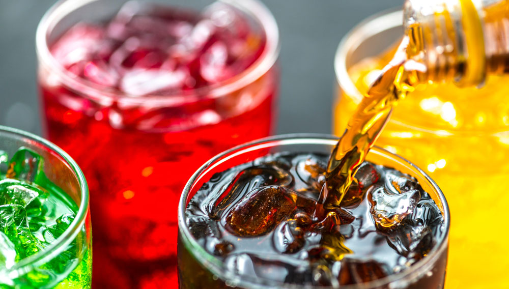 Quality control of sugar-free soft drinks in process