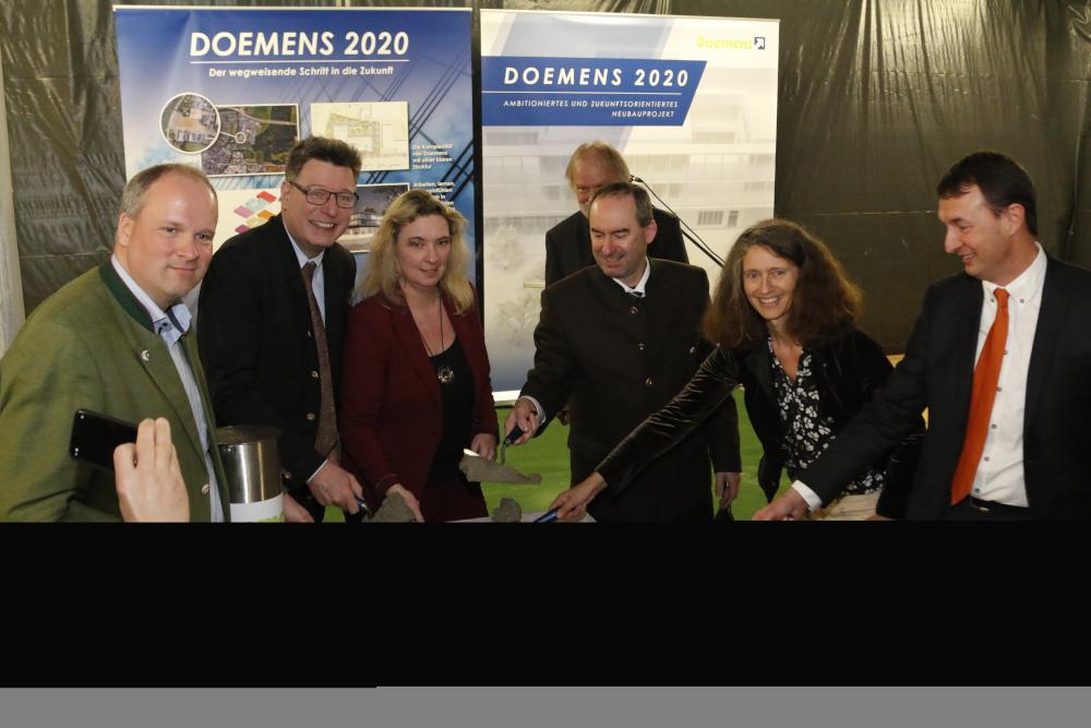 Doemens Grundsteinlegung 2020