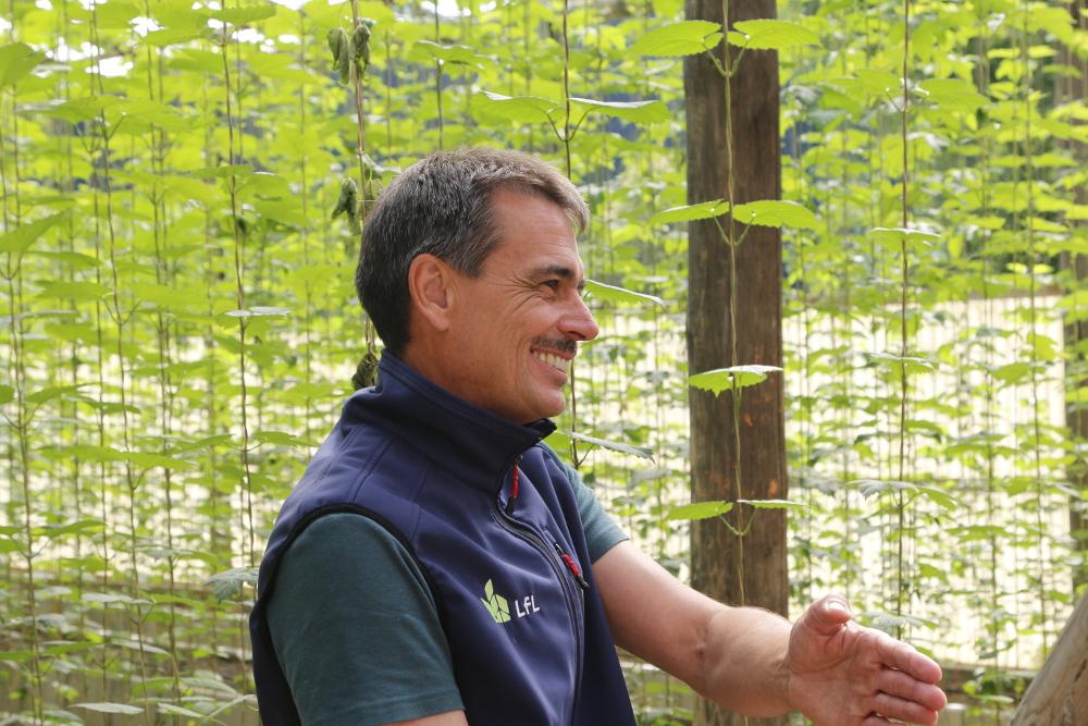 Excursion to organic hops in Hallertau 2020